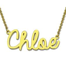 gold necklace with name in cursive online shop wholesale personalized cursive name necklace gold
