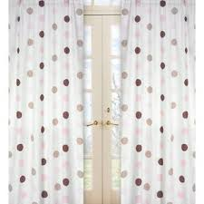 Pink Polka Dot Curtains Pink Polka Dot Curtains Drapes You Ll Wayfair