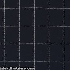 Black And White Check Upholstery Fabric Ralph Lauren Wool Check Upholstery Fabric Clifton Tattersal Navy