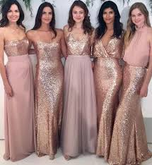 affordable bridesmaid dresses custom sparkly mismatched sequin bridesmaid dresses cheap