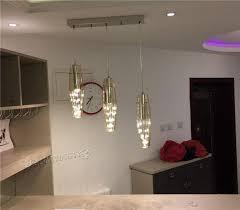 Bar Light Fixture Led Modern Glass Ceiling Light Kitchen Bar Pendant L