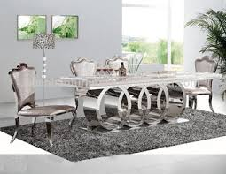 marble and stainless steel dining table dh 1405 wholesale restaurant stainless steel marble dining table
