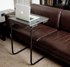adjustable couch table tray my comfy portable and foldable bedside table tv tray table