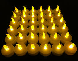 halloween tea lights amazon com flameless led tea light candles vivii battery powered