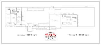 floorplan u0026 layout u2014 595 north event center