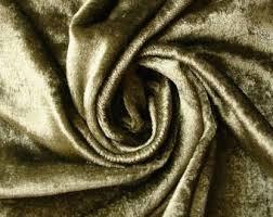 Green Velvet Upholstery Fabric Green Velvet Fabric Etsy