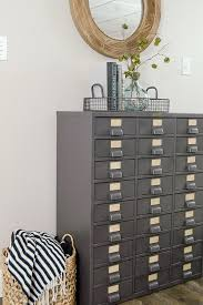 how to restore metal cabinets restored vintage metal hardware cabinet house of