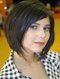 round full face women hairstyles for short hair straight bob