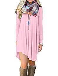 Amazon Com Pinks Casual Dresses Clothing Shoes U0026 Jewelry