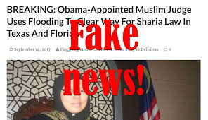 Obama No American Flag Fake News Obama Appointed Muslim Judge Did Not Use Flooding To