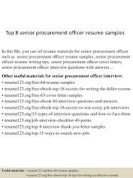 different types of resume formats top8seniorprocurementofficerresumesamples 150517103316 lva1 app6891 thumbnail 4 jpg cb 1431858844