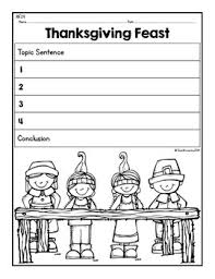 paragraph puzzle november thanksgiving feast by the imagination