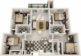 3 Bedroom Apartments Bath