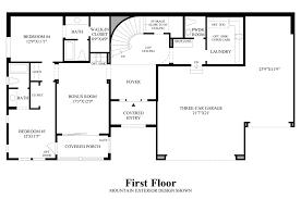 nv homes floor plans boulders at somersett the portola nv home design
