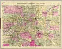 Map Of Colorado State by Cover Nell U0027s Topographical Map Of The State Of Colorado David