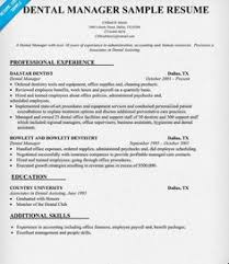 Sample Resume Office Manager by Dental Office Manager Resume Uxhandy Com