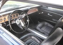 1965 Mustang Black Caspian Blue 1965 Ford Mustang Hardtop Mustangattitude Com Photo