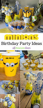 minions birthday party ideas minions birthday party ideas allmomdoes