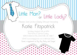 gender neutral reveal baby shower invitations printable little