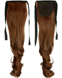 Pony Wrap Hair Extension by Clip In Ponytail Pony Tail Hair Extension Wrap Around Curly Wavy