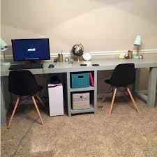 2 Person Desk For Home Office Best 25 2 Person Desk Ideas On Pinterest Two Person Desk