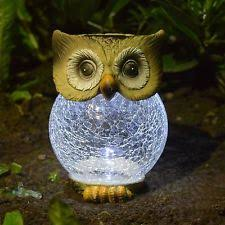 garden owl ebay