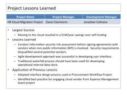 lessons learned report template closing the project 10 ways to embed lessons learned in the