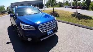 2017 subaru outback 2 5i limited interior 2016 subaru outback 2 5i limited review youtube