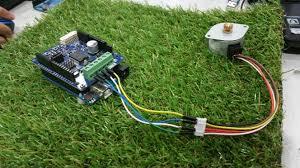 Stepper Motor Driver Wiring Diagram Arduino Stepper Motor 2amp Motor Driver Shield Tutorial By