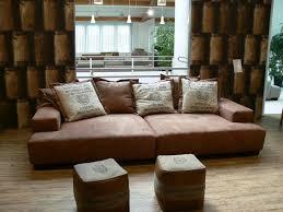big sofa leder polstermöbel leder oder stoff rheumri