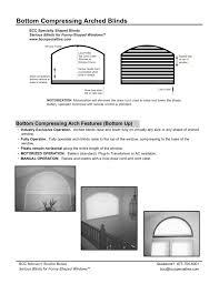arch tech sheet