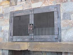 forged fireplace doors gqwft com