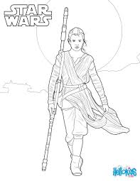 star wars rey coloring pages hellokids