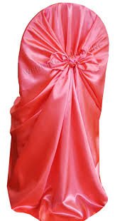 universal chair covers wholesale coral satin universal self tie chair covers wholesale