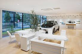 bmw dealership interior first dedicated bmw i showroom opening in tokyo