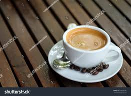 espresso coffee breakfast coffee espresso coffee roasted coffee stock photo