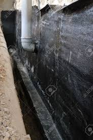 an example of hydro isolation of house with bituminous