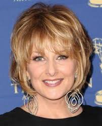 christine michael with short hair linda gray hairstyle short layered straight human hair wigs for