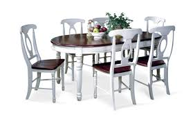 Napoleon Chair British Isle Oval Leg Table With 4 Napoleon Side Chairs By Thomas