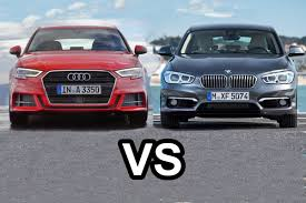 difference between audi a3 se and sport 2017 audi a3 sportback vs 2016 bmw 1 series hatchback design