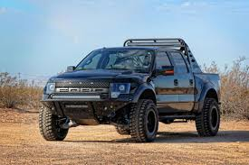 Classic Black Ford Svt Raptor - 2011 sema preview addictive desert design jpm coachworks do the f