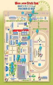 state fair map wisconsin state fair officials release map created for go