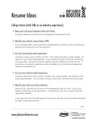 resume exles for career objective resume sle career objective put address on best exle