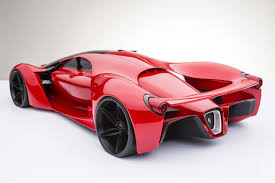 future ferrari futuristic laferrari successor comes to life car pictures