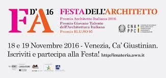 Awn It Festa Architetto 2016 Home