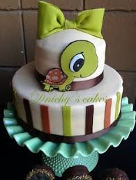 turtle baby shower cake pinteres