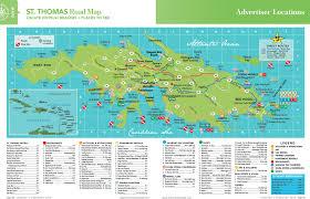 St Maarten Map St Thomas Island Road Map Vacation Destinations Pinterest