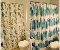 Blue And Yellow Shower Curtains Blue Shower Curtain Set In Calm Hooks Wxh Quality Blue Shower