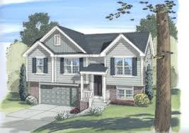 Split Level Homes Plans Split Level House Plans Advanced House Plans