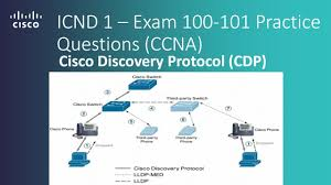 cisco icnd 1 u2013 exam 100 101 cisco discovery protocol cdp practice